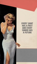Every Saint Has A Past by The Connor Brothers - Giclee Limited Edition sized 30x47 inches. Available from Whitewall Galleries